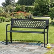 SunTime Outdoor Living Steel/Plastic Garden Bench