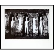 Novica Chamathevi Temple  on Kodak Professional Paper by Chavanond Photographic Print in Black/White