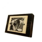 Matchstix Coastal Picture Frame; Black / White