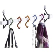Aderet 5 Hook Wall Mounted Coat Rack