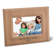 JDS Personalized Gifts Personalized Picture Frame; Rawhide
