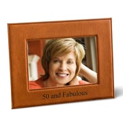 JDS Personalized Gifts Personalized Picture Frame; Tan
