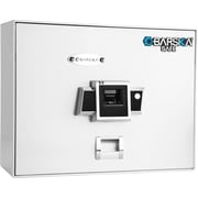 Barska Top Opening Biometric Safe - White (Ax12402)
