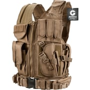 Barska Loaded Gear Vx-200 Tactical Right Hand Vest Dark Earth (BI12346)