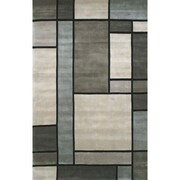 American Home Rug Co. Casual Contemporary Grey / Slate Metro Area Rug; 3'6'' x 5'6''