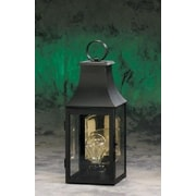 Brass Traditions 1000 Series 1 Light Outdoor Wall Lantern; Painted Black