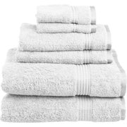 Maison Condelle Sandra Venditti 6 Piece Towel Set; White