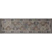 Art Carpet Arabella Gray Area Rug; Runner 2' x 8'