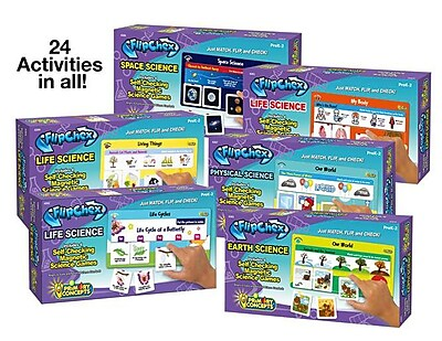 Primary Concepts FlipChex Special: Science, 6/Set (4308) 2335796