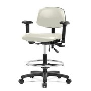 Perch Chairs Stools Drafting Chair Adobe White Staples