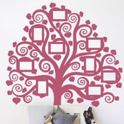 The Decal Guru Family Tree Pictures Wall Decal; Lipstick