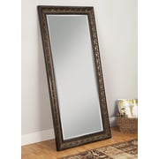 Sandberg Furniture Andorra Full Length Mirror; Golden/ Cognac