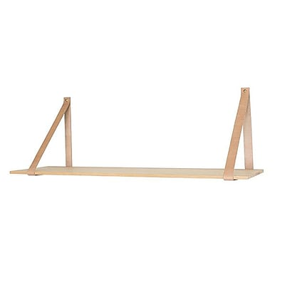 Kure Rubberwood Floating Shelf