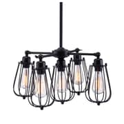 Zuo Modern Porirua Ceiling Lamp Distressed Black (WC98424)