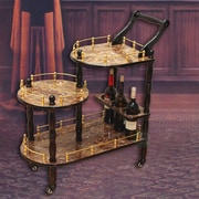 Astoria Grand Fields 3-Tier Bar Cart