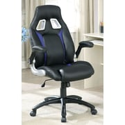 Hokku Designs Street Racer Desk Chair; Blue