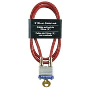 Master Lock Laminated Padlock and Cable