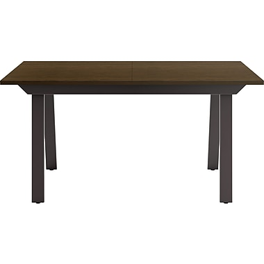 Amisco rectangular conference table textured dark for Table 52 reviews