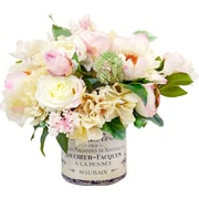Creative Displays, Inc. Peony and Hydrangea French Label Pot