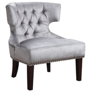AC Pacific Katherine Tufted Armless Slipper Chair