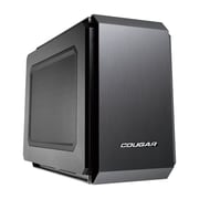 COUGAR Ultra-Compact Mini-ITX Pro Gaming PC Case (108M020.0003)