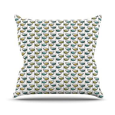 KESS InHouse Spring Stem Throw Pillow; 26'' H x 26'' W x 5'' D