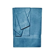 Pure Fiber Bamboo Bath Towel (Set of 3); Midnight Blue