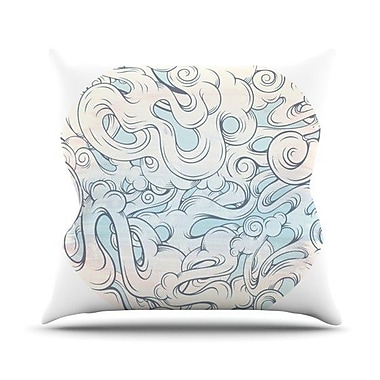 KESS InHouse Entangled Souls Throw Pillow; 18'' H x 18'' W