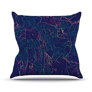 KESS InHouse Night Life Throw Pillow; 26'' H x 26'' W x 5'' D
