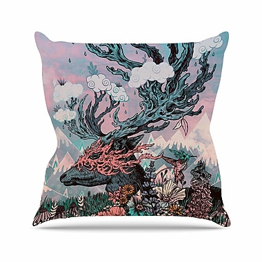 KESS InHouse Tempest Throw Pillow; 26'' H x 26'' W