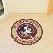 FANMATS NCAA Florida State University Roundel Mat