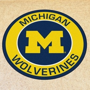 FANMATS NCAA University of Michigan Roundel Mat