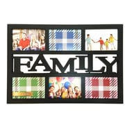BestBuy Frames Family 6 Photo Opening Collage Picture Frame