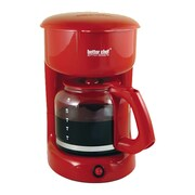 Better Chef 12 Cup Coffee Maker; Red