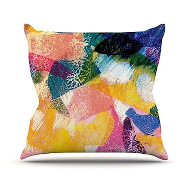 KESS InHouse Texture Throw Pillow; 26'' H x 26'' W