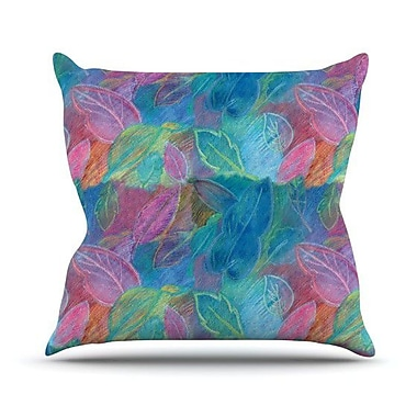 KESS InHouse Rabisco Throw Pillow; 18'' H x 18'' W