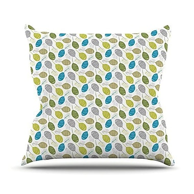 KESS InHouse Tangled Throw Pillow; 20'' H x 20'' W 4.5'' D