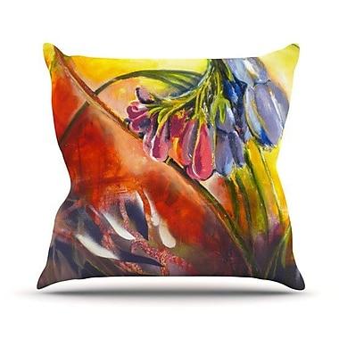 KESS InHouse Progression Throw Pillow; 20'' H x 20'' W