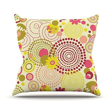 KESS InHouse Poa Throw Pillow; 26'' H x 26'' W