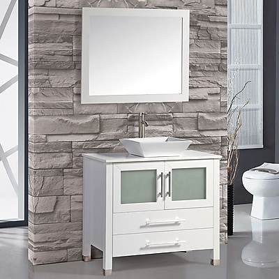 MTDVanities Monaco 36'' Single Sink Bathroom Vanity