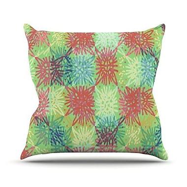 KESS InHouse Multi Lacy Throw Pillow; 20'' H x 20'' W