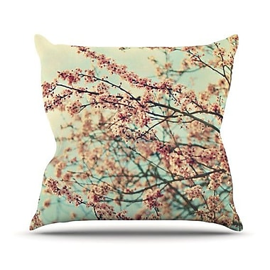 KESS InHouse Take a Rest Throw Pillow; 26'' H x 26'' W