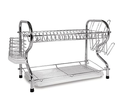Better Chef 22'' Chrome Plated Dish Rack