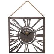 CBK Toscana Square Wall Clock w/ Rope Hanger