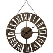 CBK Weekend Retreat 30'' Hanging Roman Numeral Wall Clock