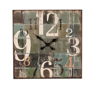CBK Weekend Retreat Large Numbers Wall Clock