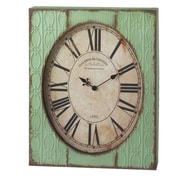 CBK Bloom Stamped Wall Clock