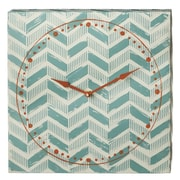 CBK Weekend Retreat Chevron Wall Clock