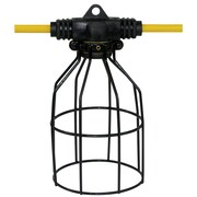 King Canada 50' x 5 Lamp String Light with Metal Cages (K-5012-5LST)