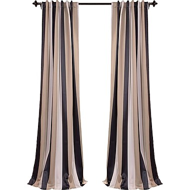 Half Price Drapes Georgetown Blackout Thermal Single Curtain Panel; 50'' W x 96'' L
